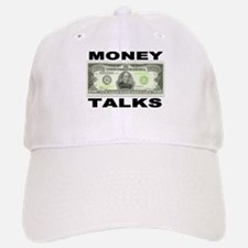 Money Talks Baseball Baseball Cap