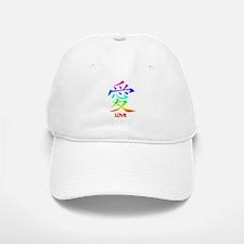 Rainbow Love Baseball Baseball Cap