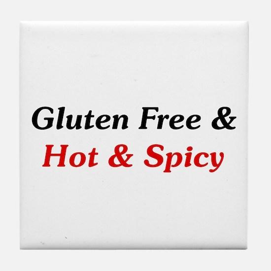 Gluten Free & Hot & Spicy Tile Coaster