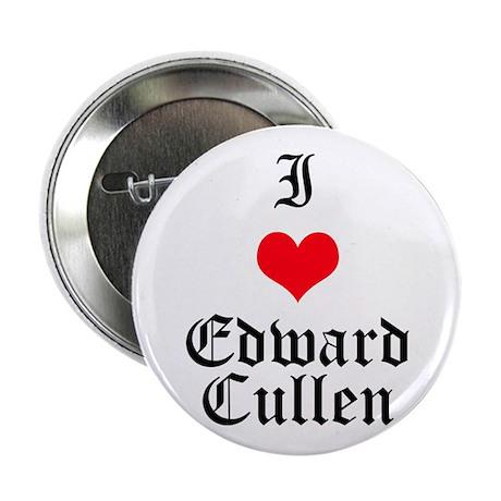 "I Heart Edward Cullen 2.25"" Button"