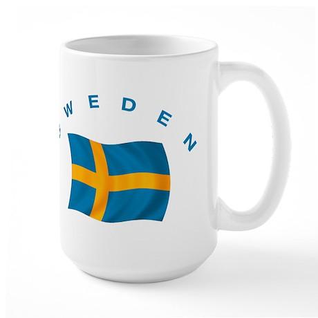 Flag of Sweden Large Mug