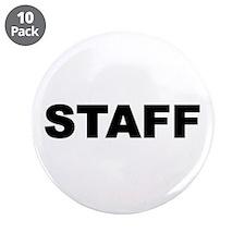 "Staff 3.5"" Button (10 pack)"