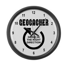 Right Direction Large Wall Clock