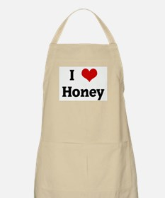 I Love Honey BBQ Apron