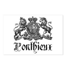 Ponthieux Last Name Family Crest Postcards (Packag