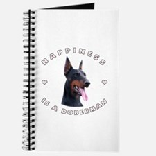 Happiness is a Doberman! Journal
