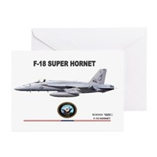 F/A-18 Hornet Greeting Cards (Pk of 10)