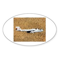 EA-6 Prowler Oval Decal