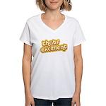 Thats Excellent Women's V-Neck T-Shirt