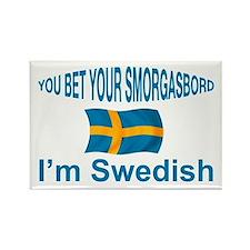 Swedish Smorgasbord 2 Rectangle Magnet