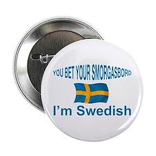"""Swedish Smorgasbord 2 2.25"""" Button"""
