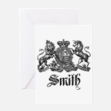 Smith Family Name Crest Greeting Card