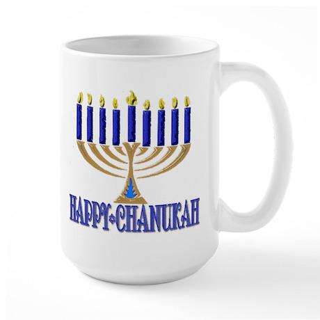 Menorah Large Mug