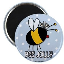 "bee jolly 2.25"" Magnet (10 pack)"