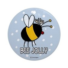 bee jolly Ornament (Round)