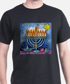 Menorah Cartoon T-Shirt