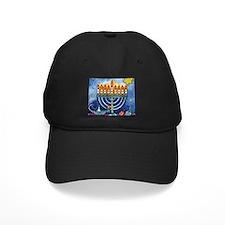 Menorah Cartoon Baseball Hat