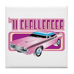 1971 Dodge Challenger Tile Coaster