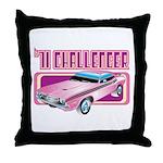 1971 Dodge Challenger Throw Pillow