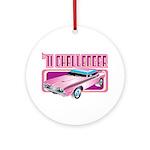1971 Dodge Challenger Ornament (Round)