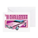 1971 Dodge Challenger Greeting Cards (Pk of 10)
