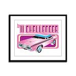1971 Dodge Challenger Framed Panel Print