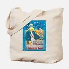 Uncle Sam Liberty Loan Tote Bag
