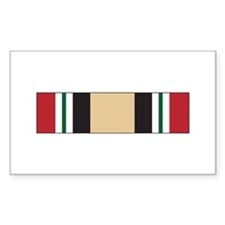 Iraq Campaign Rectangle Decal