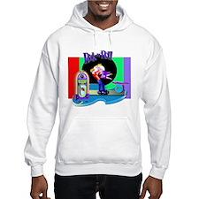 Fun Rock N' Roll design Hoodie