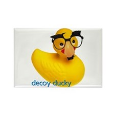 DECOY DUCKY Rectangle Magnet