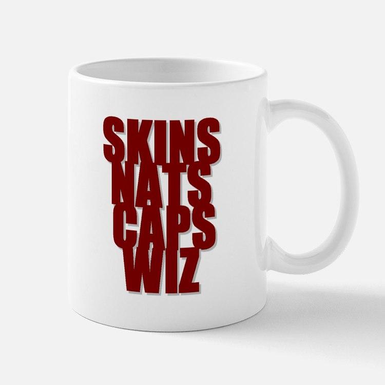 Washington Home Teams Mug