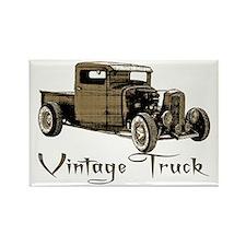 Vintage Truck- Rectangle Magnet