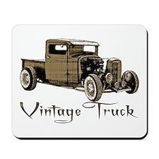 Vintage Truck- Mousepad
