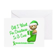 Bear In Stocking 1 (Muscular Dystrophy) Greeting C