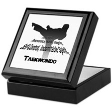 Taekwondo Tenets Keepsake Box