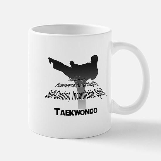 Taekwondo Tenets Mug