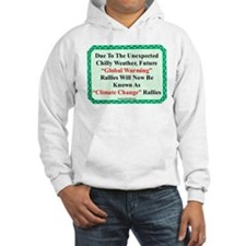"""Chilly Global Warming"" Hoodie"