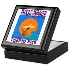 Rincon 1968 Surf Championship Keepsake Box