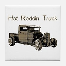 Hot Roddin Truck- Tile Coaster