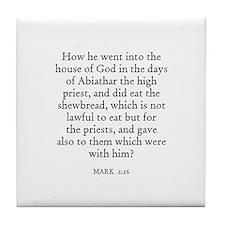 MARK  2:26 Tile Coaster
