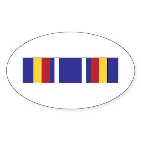 Global War Service Oval Sticker