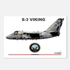 S-3 Viking Postcards (Package of 8)