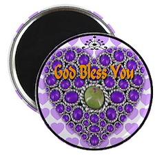 God Bless You Magnet