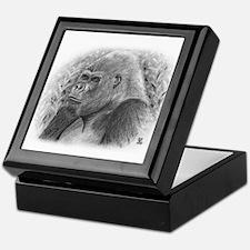 Posing Gorillas Keepsake Box