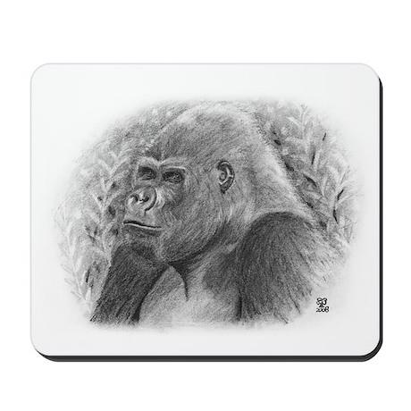 Posing Gorillas Mousepad