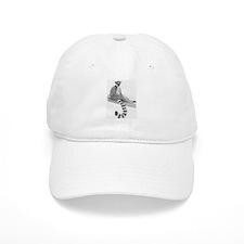 Lounging Lemur Baseball Cap