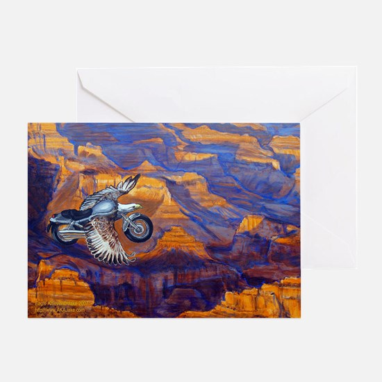Eagle Knievel Greeting Card