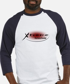X-Treme Homeschooler Red Baseball Jersey