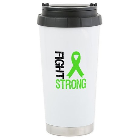 Lymphoma Fight Strong Stainless Steel Travel Mug