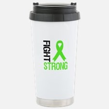 Lymphoma Fight Strong Travel Mug